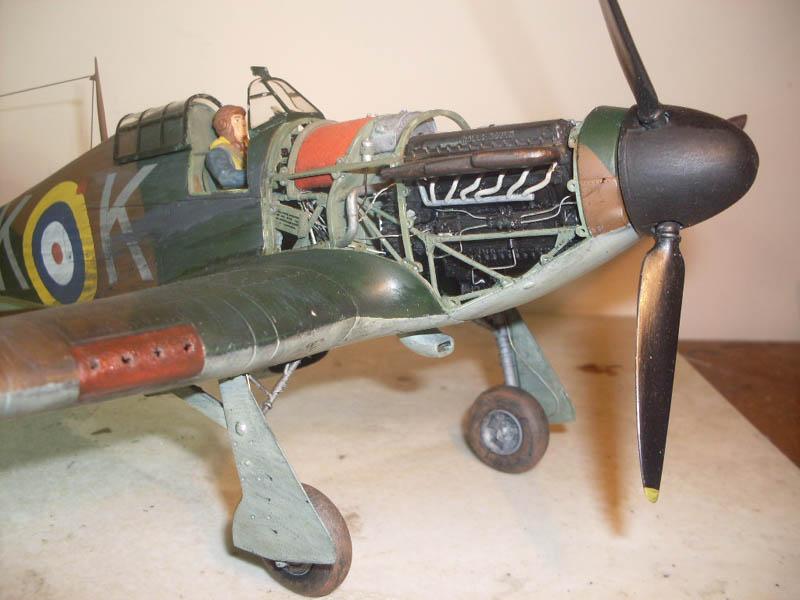 Airfix 1/24 Hurricane | Large Scale Planes