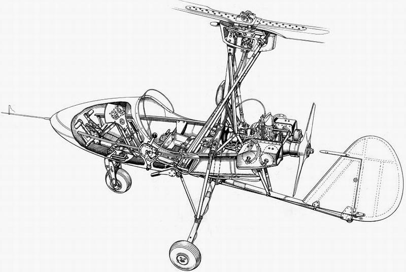wallis wa-116 agile autogyro