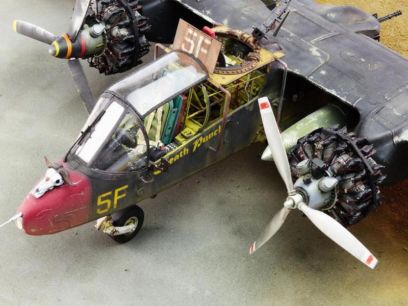 Kitty Hawk 1 32 Post Apocalyptic Ov 10a Bronco Large