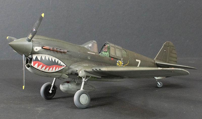 Hasegawa 1/32 P-40E Warhawk | Large Scale Planes