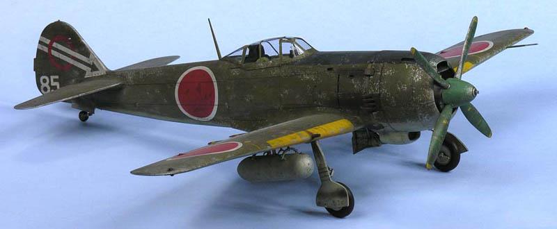 Hasegawa 1/32 Nakajima Ki-84 Type 4 Fighter Hayate (Frank ...