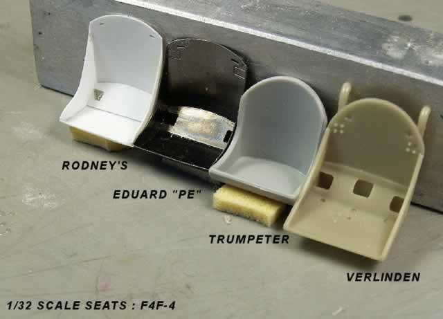 Trumpeter S 1 32 F4f 4 Wildcat Part 4 Quot The Cockpit