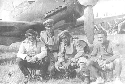 Grigorov second from right