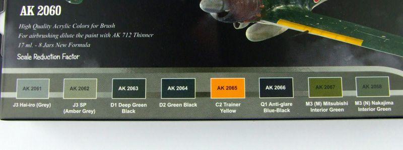 Ak Interactive Ak 2060 Ww2 Ijn Aircraft Colours Large